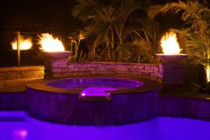 Fire Features #003 by Quality Custom Pools