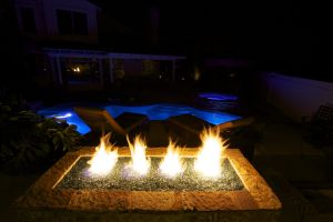 Fire Features #008 by Quality Custom Pools