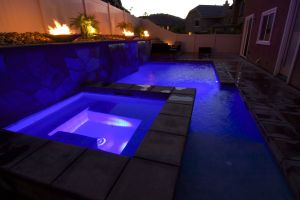 Fire Features #010 by Quality Custom Pools