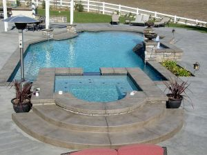 Formal & Grecian Pools #001 by Quality Custom Pools