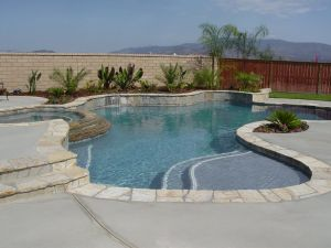 Free Form Pools #045 by Quality Custom Pools