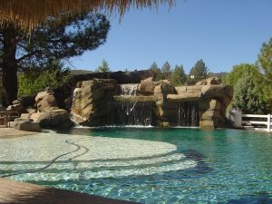 Rock Style Pools #002 by Quality Custom Pools