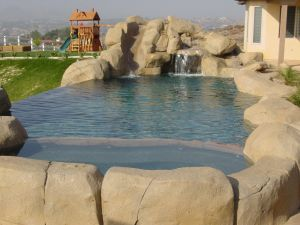 Rock Style Pools #003 by Quality Custom Pools
