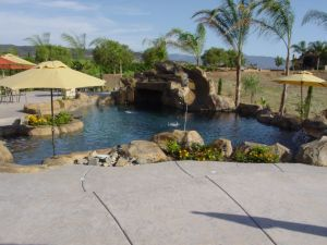 Rock Style Pools #008 by Quality Custom Pools