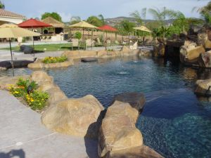 Rock Style Pools #009 by Quality Custom Pools