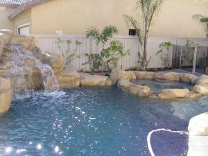 Rock Style Pools #010 by Quality Custom Pools