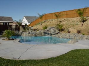 Rock Style Pools #011 by Quality Custom Pools