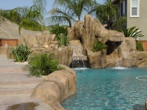 Rock Style Pools #012 by Quality Custom Pools