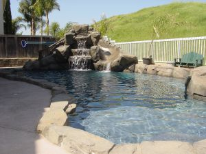 Rock Style Pools #016 by Quality Custom Pools