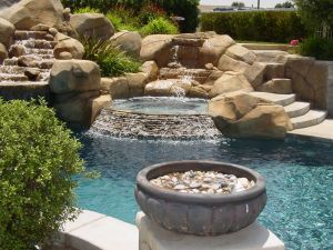 Rock Style Pools #017 by Quality Custom Pools