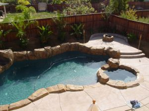 Rock Style Pools #018 Quality Custom Pools