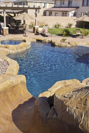 Rock Style Pools #021 by Quality Custom Pools
