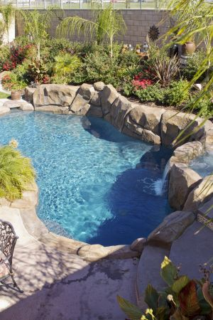Rock Style Pools #023 by Quality Custom Pools