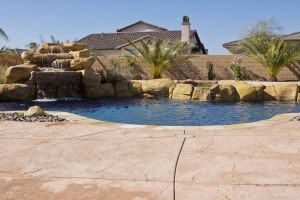 Rock Style Pools #024 by Quality Custom Pools