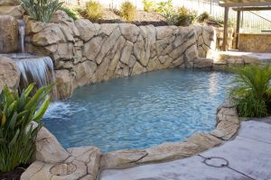 Rock Style Pools #025 by Quality Custom Pools