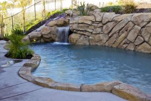 Rock Style Pools #026 by Quality Custom Pools
