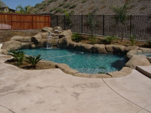 Rock Style Pools #029 by Quality Custom Pools
