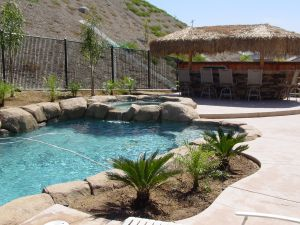 Rock Style Pools #030 by Quality Custom Pools