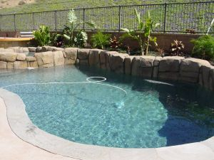Rock Style Pools #032 by Quality Custom Pools
