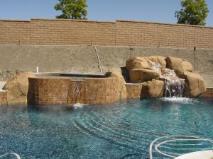 Rock Style Pools #034 by Quality Custom Pools