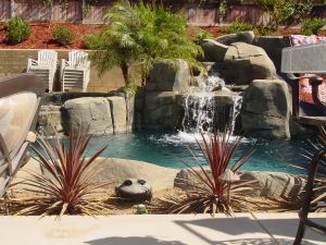 Rock Style Pools #036 by Quality Custom Pools