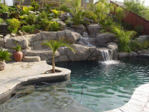 Rock Style Pools #038 by Quality Custom Pools