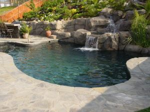 Rock Style Pools #039 by Quality Custom Pools