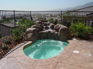 Rock Style Pools #040 by Quality Custom Pools