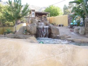 Rock Style Pools #041 by Quality Custom Pools