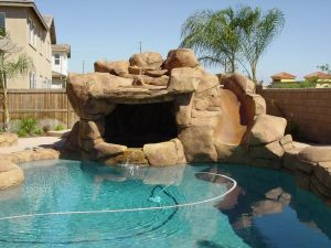 Rock Style Pools #042 by Quality Custom Pools