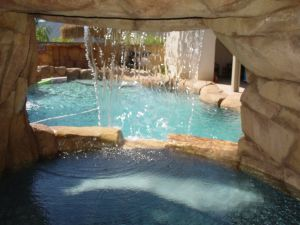 Rock Style Pools #043 by Quality Custom Pools