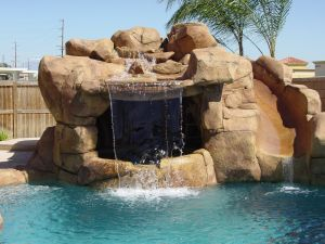 Rock Style Pools #045 by Quality Custom Pools