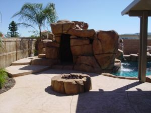 Rock Style Pools #047 by Quality Custom Pools