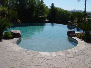 Vanishing Edge Pools #003 by Quality Custom Pools