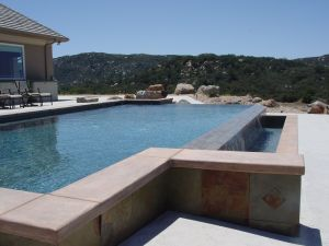 Vanishing Edge Pools #007 by Quality Custom Pools