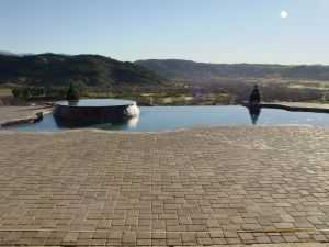 Vanishing Edge Pools #010 by Quality Custom Pools