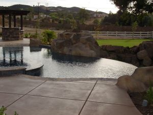Vanishing Edge Pools #011 by Quality Custom Pools