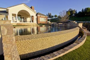 Vanishing Edge Pools #015 by Quality Custom Pools