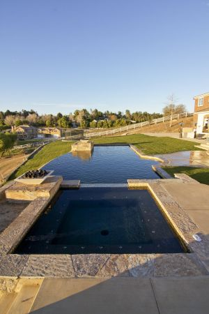 Vanishing Edge Pools #016 by Quality Custom Pools
