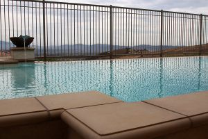 Vanishing Edge Pools #017 by Quality Custom Pools