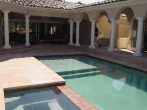 Vanishing Edge Pools #020 by Quality Custom Pools